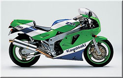 Model History | Andys Kawasaki ZXr/ZX7R Tribute Website