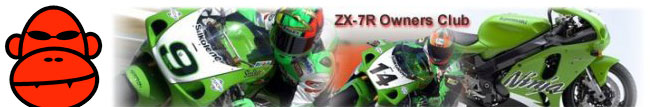Visit the Red Monkey ZX-7R Owners Club