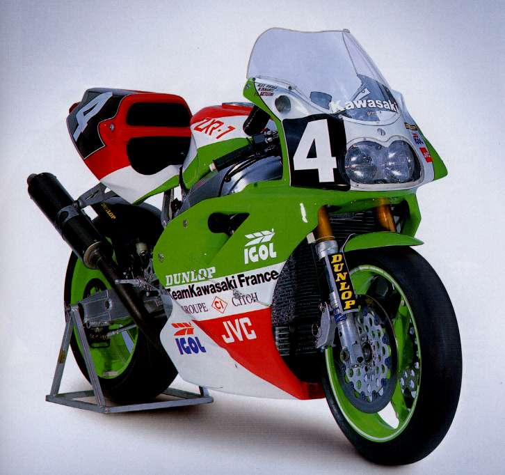 Model History Andys Kawasaki Zxrzx7r Tribute Website