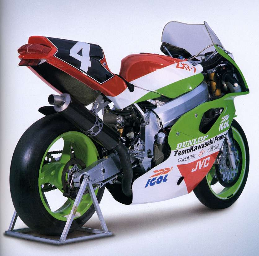 Model History Andys Kawasaki Zxrzx7r Tribute Website